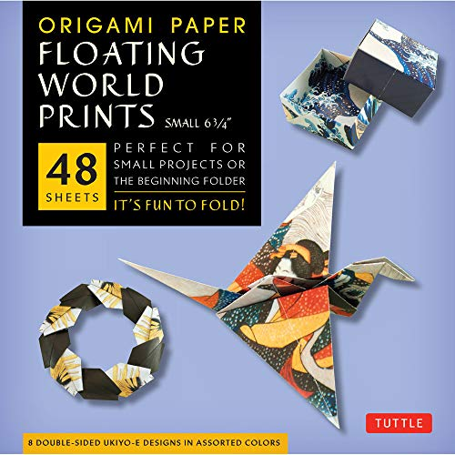 9780804843409: Origami Paper - Floating World Prints Small 6 3/4