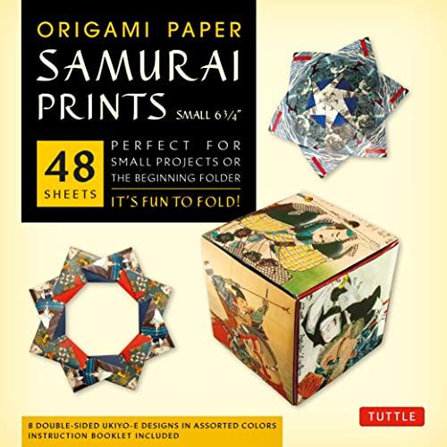9780804843478: Origami Paper - Samurai Prints - Small 6 3/4