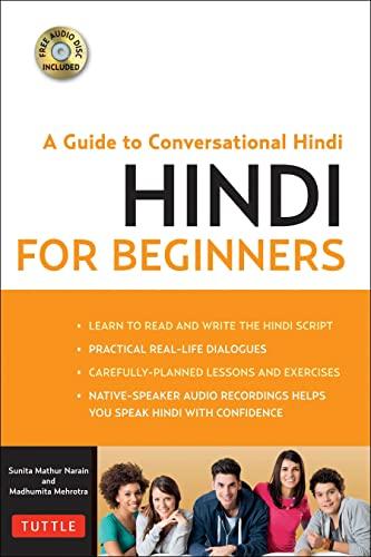 9780804844383: Hindi for Beginners (Book & CD Rom)