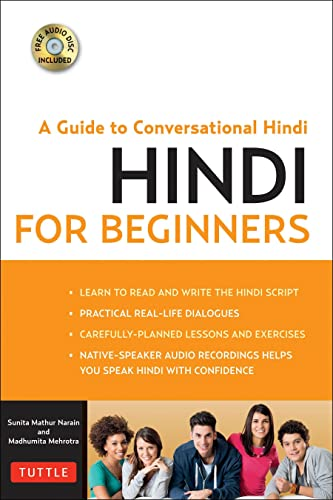 9780804844383: Hindi for Beginners: A Guide to Conversational Hindi (Audio Disc Included)