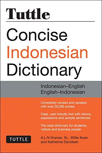9780804844772: Tuttle Concise Indonesian Dictionary: Indonesian-English English-Indonesian (Tuttle Concise Dictionaries)