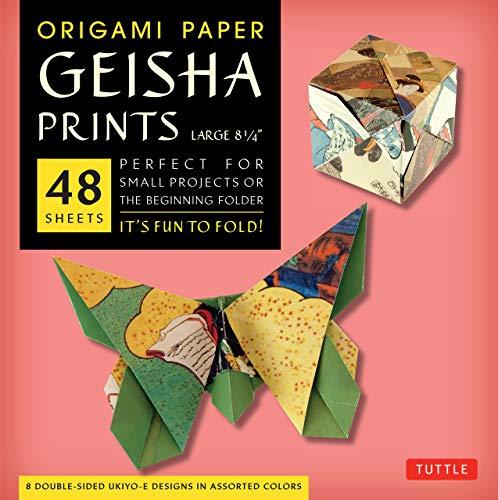 9780804844802: Origami Paper Geisha Prints: Large