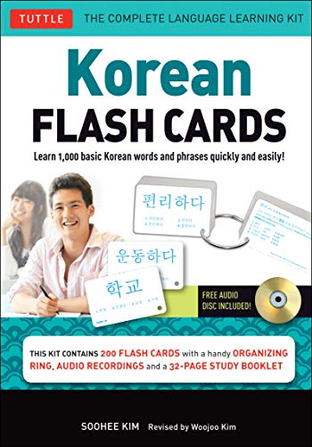 9780804844826: Korean flash cards kit