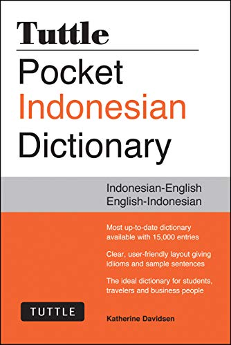 Tuttle Pocket Indonesian Dictionary: Indonesian-English English-Indonesian (Tuttle: Davidsen, Katherine