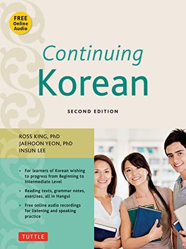 9780804845151: Continuing Korean: Second Edition (Includes Audio CD)