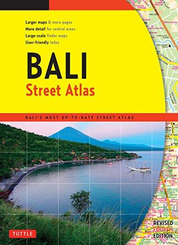 9780804845298: Bali Street Atlas Fourth Edition