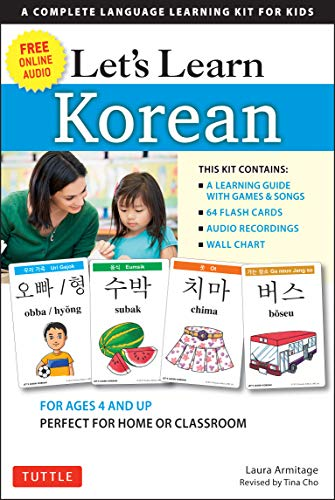 9780804845410: Let's Learn Korean: 64 Basic Korean Words and Their Uses (Flashcards, Audio CD, Games & Songs, Learning Guide and Wall Chart)