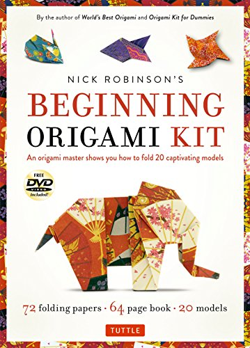 Nick Robinson's Beginning Origami Kit: 72 Folding: Robinson, Nick/ De