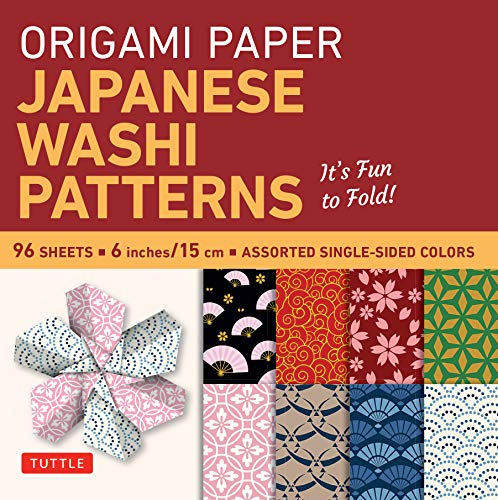 9780804845465: Origami Paper: Japanese Washi Patterns: Perfect for Class Projects and Modular Origami