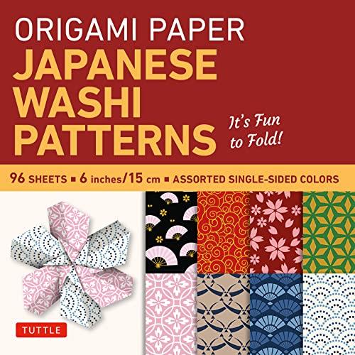 9780804845465: Origami Paper - Japanese Washi Patterns