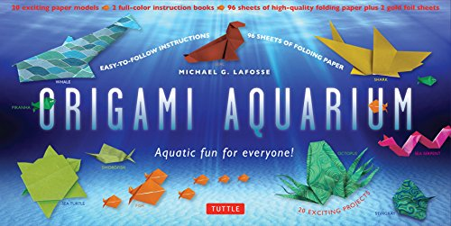 9780804845519: Origami Aquarium Kit /Anglais