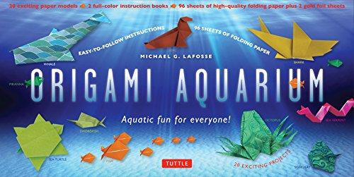 9780804845519: Origami aquarium kit