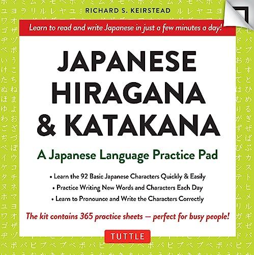 9780804846257: Japanese Hiragana & Katakana Language Practice Pad