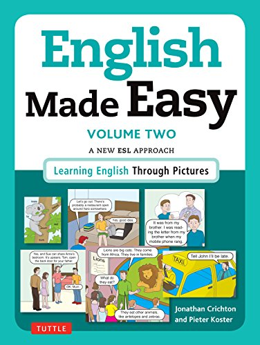 9780804846462: English Made Easy Volume Two: British Edition: A New ESL Approach: Learning English Through Pictures: 2