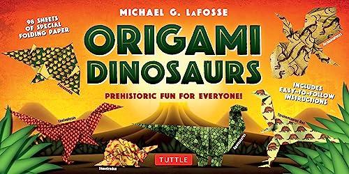 Origami Dinosaurs Kit: Prehistoric Fun for Everyone