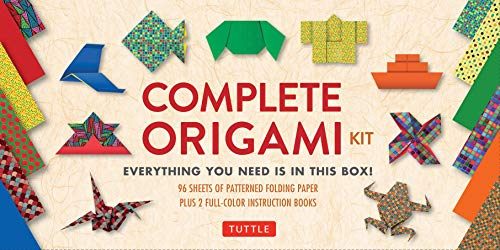 9780804847070: Complete Origami Kit: [Kit with 2 Origami How-to Books, 98 Papers, 30 Projects] This Easy Origami for Beginners Kit is Great for Both Kids and Adults