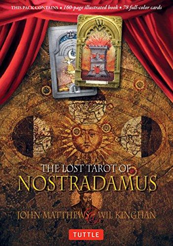 9780804847940: The Lost Tarot of Nostradamus Kit