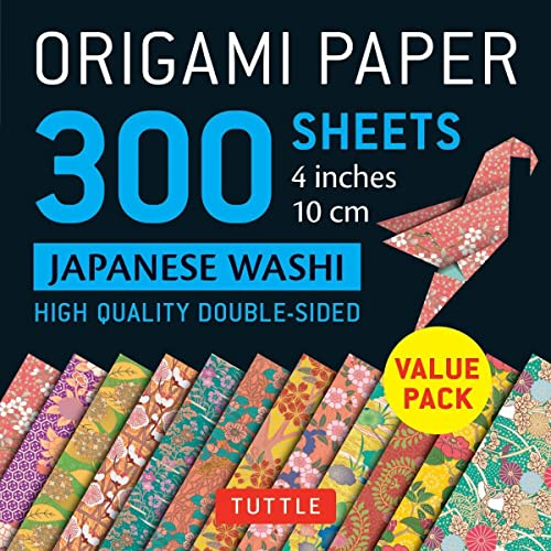 9780804849227: Origami papers 300 sheets japanese washi