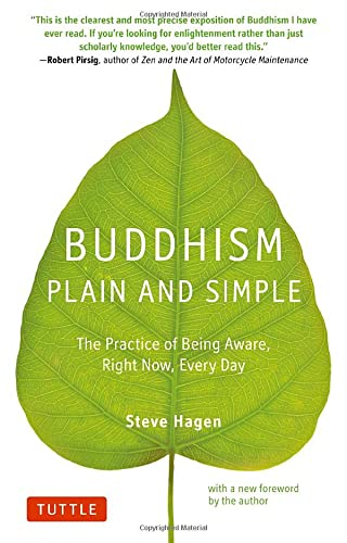 9780804851183: Buddhism Plain and Simple: The Practice of Being Aware Right Now, Every Day
