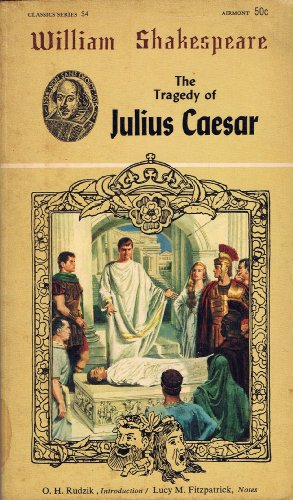 Tragedy of Julius Caesar (Airmont Shakespeare Classics: Shakespeare, William