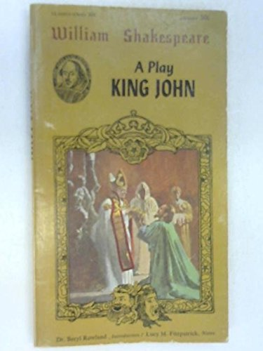 King John (Airmont Shakespeare Classics Series): Shakespeare, William