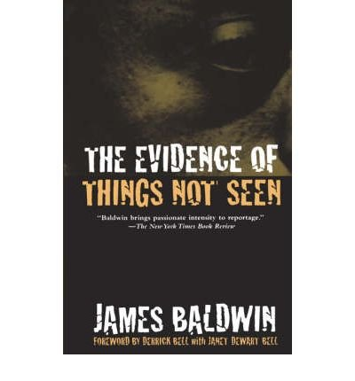 9780805001389: The Evidence of Things Not Seen