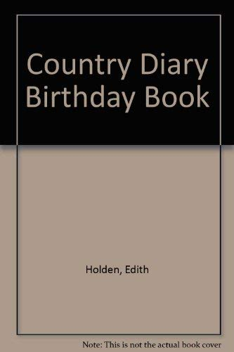 9780805002249: Country Diary Birthday Book