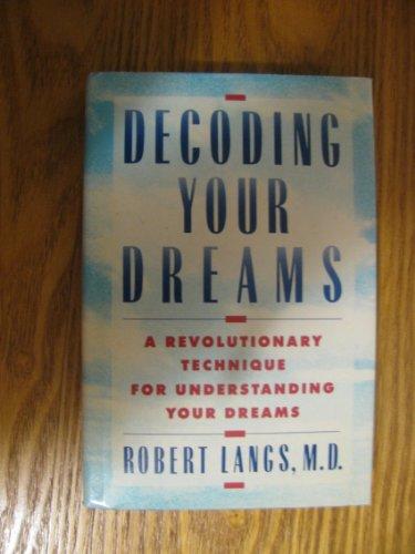 9780805004182: Decoding Your Dreams
