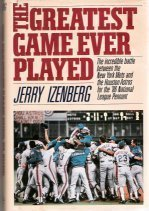 Greatest Game Ever Played: Izenberg, Jerry