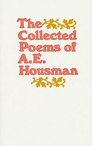 9780805005479: The Collected Poems of A. E. Housman