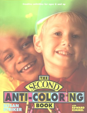 9780805007718: Second Anti-Coloring Book