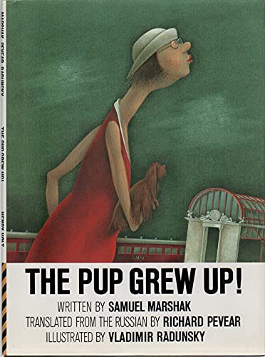 9780805009521: The Pup Grew Up! (English and Russian Edition)