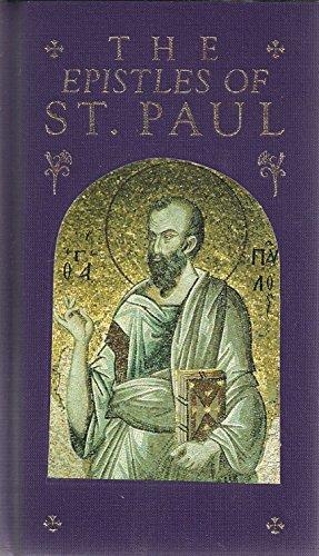 The Epistles of St. Paul: D. Fordham