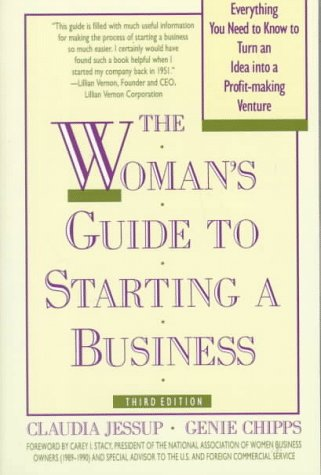 9780805011401: A Woman's Guide to Starting a Business: Third Edition