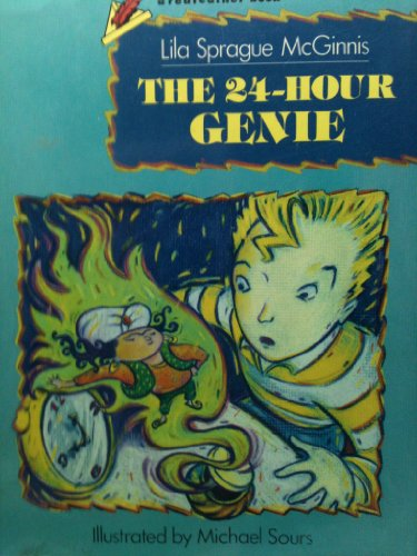 The 24-Hour Genie (Redfeather Books) McGinnis, Lila Sprague and Sours, Michael