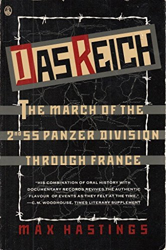 9780805014075: Das Reich: The March of the 2nd Ss Panzer Division Through France