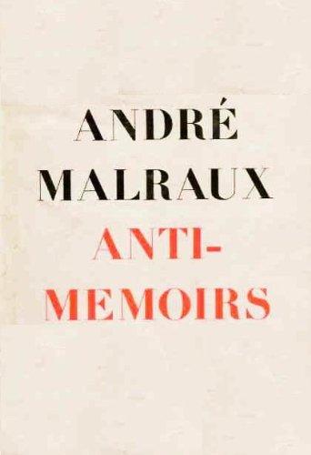 9780805014099: Anti-Memoirs