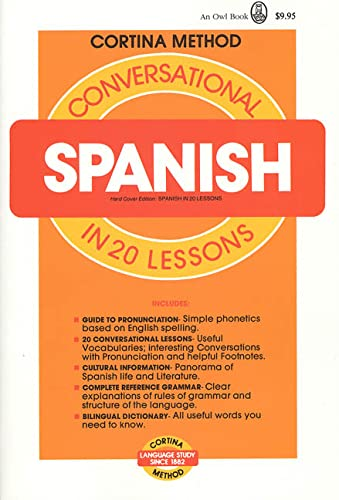Cortina Method Conversational Spanish in 20 Lessons