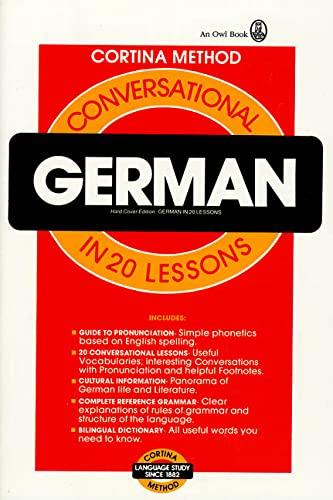 9780805014983: Conversational German: In 20 Lessons (Cortina Method)