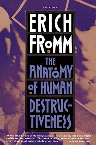 9780805016048: The Anatomy of Human Destructiveness