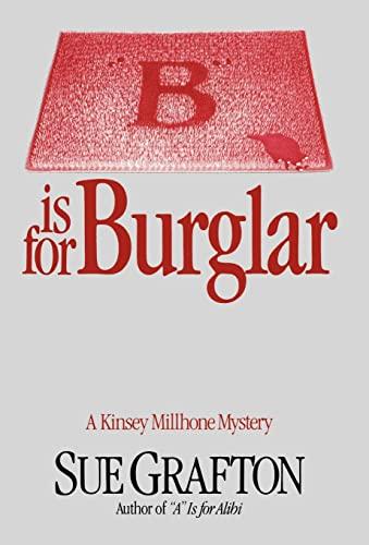 9780805016321: B Is for Burglar