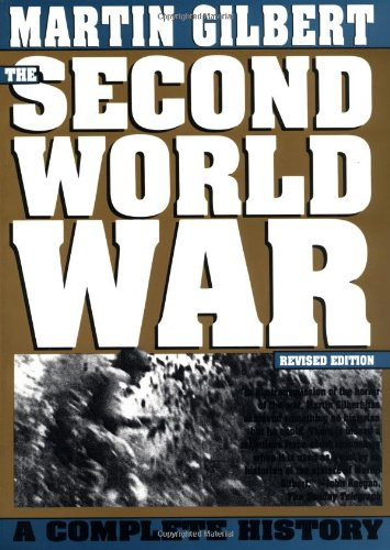 9780805017885: The Second World War: A Complete History