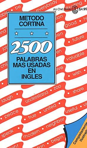 2500 Palabras Mas Usadas En Ingles -: Richard D. Abraham