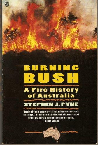 9780805021011: Burning Bush: A Fire History of Australia