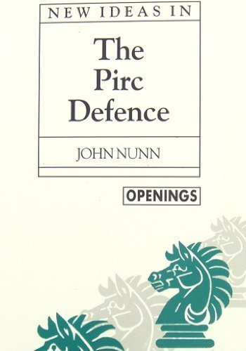 9780805029390: New Ideas in the Pirc Defence (Batsford Chess Library)