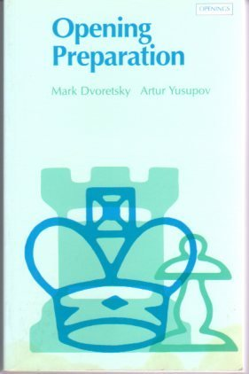 9780805032901: Opening Preparation (Batsford Chess Library)