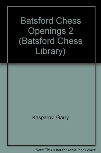 9780805034097: Batsford Chess Openings 2 (Batsford Chess Library)