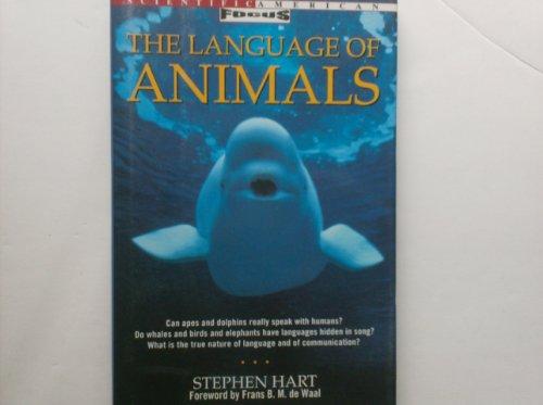 9780805038392: The Language of Animals (Scientific American Focus Book)
