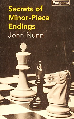9780805042283: Secrets of Minor-Piece Endings (Batsford Chess Library)