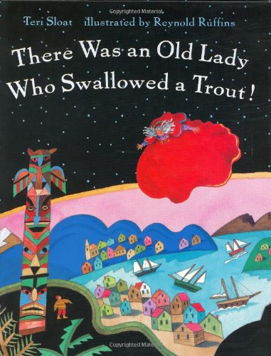 9780805042948: There Was an Old Lady Who Swallowed a Trout!